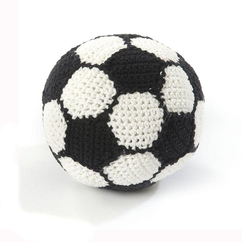 Image of Hæklet fodbold fra Smallstuff - Lille (40028-05)