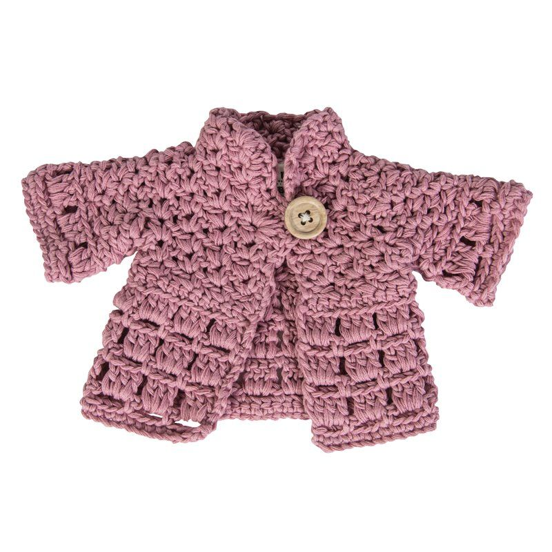 Dukketøj fra Sebra - jakke pastel pink