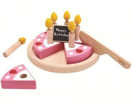 Image of   Fødselsdagskage fra PlanToys