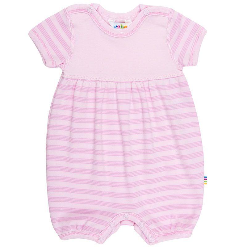 Image of   Sommerdragt fra Joha - Øko-Tex - Mini Stripe Pink