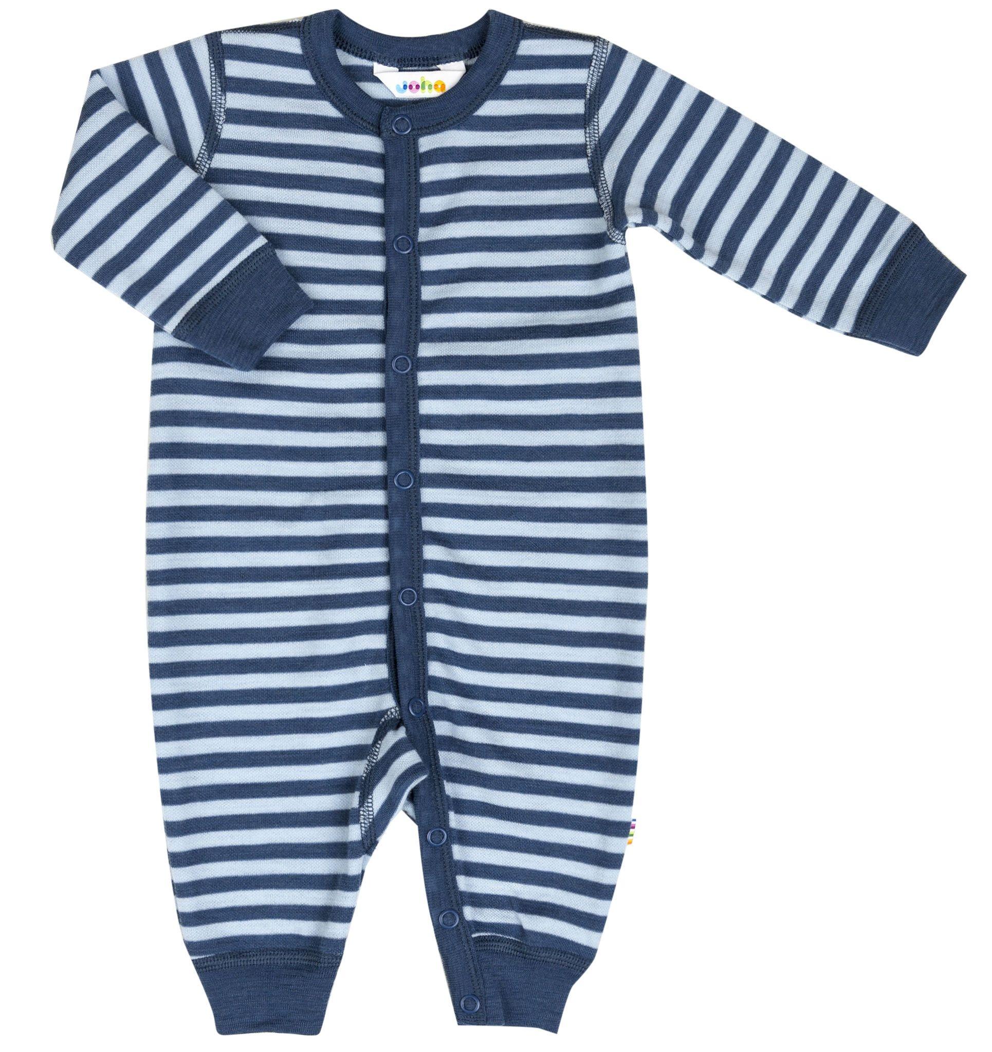 Image of   Heldragt fra Joha - Uld - Stripe Blue