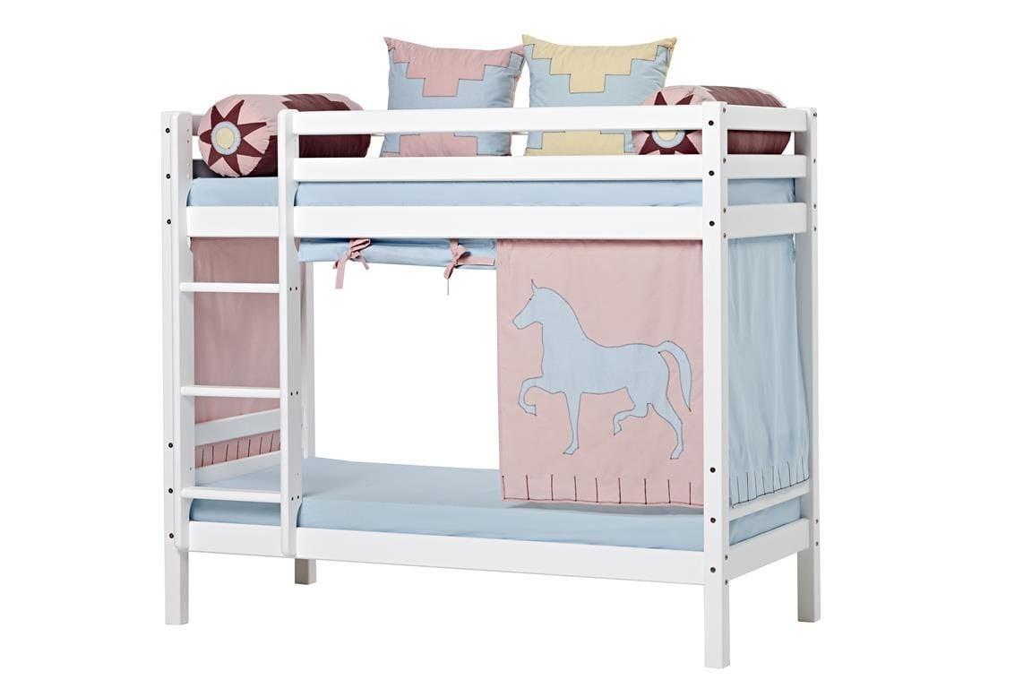 Billede af Forhæng til Halvhøj seng og Køjeseng fra Hoppekids - Indian Girl