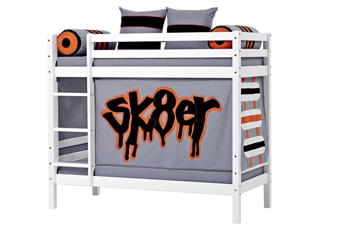Billede af Forhæng til Halvhøj seng og Køjeseng fra Hoppekids - Skater