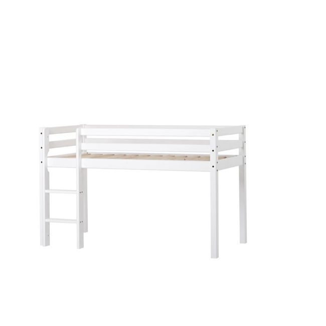 Halvhøj seng fra Hoppekids Basic (160x70)