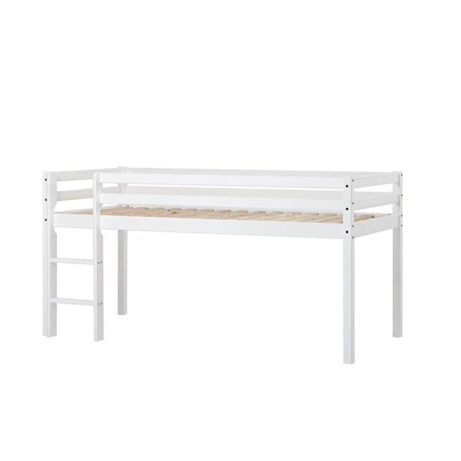 Halvhøj seng fra Hoppekids Basic (200x90)