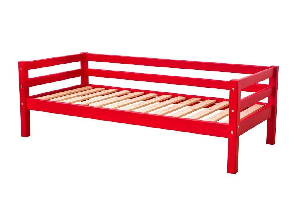 Image of   Juniorseng fra Hoppekids Basic - Classic Red (160x70)