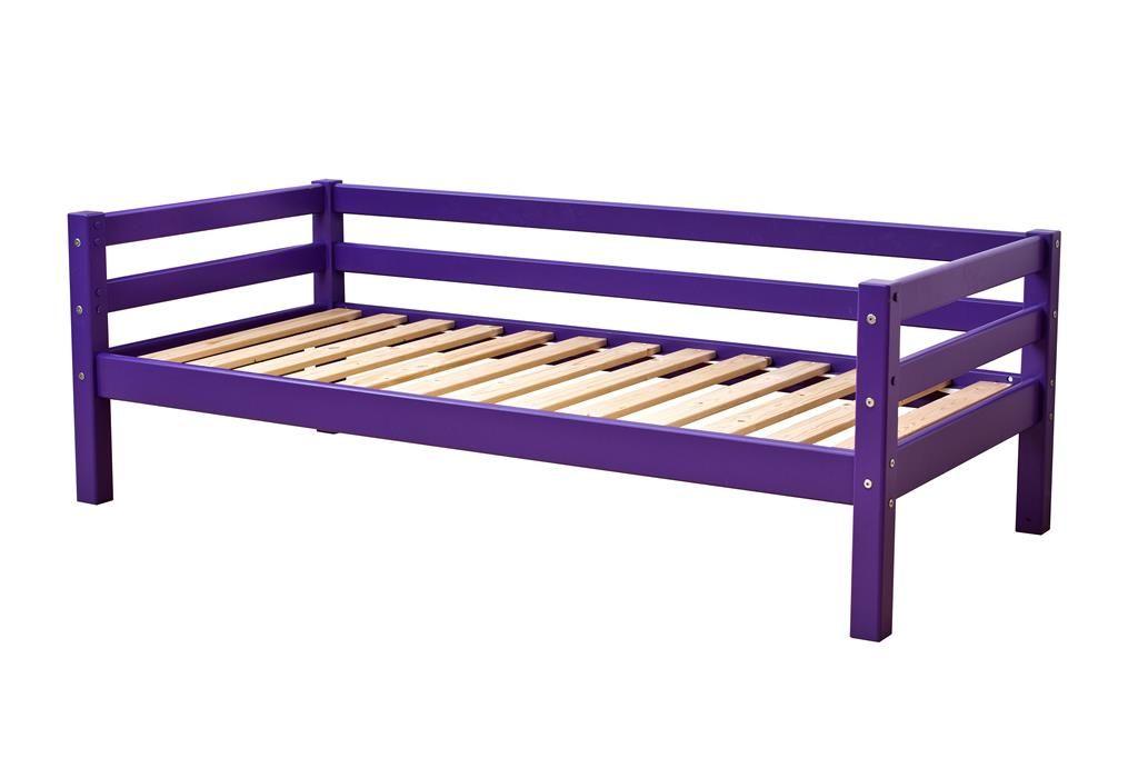 Image of   Juniorseng fra Hoppekids Basic - Classic Purple (160x70)