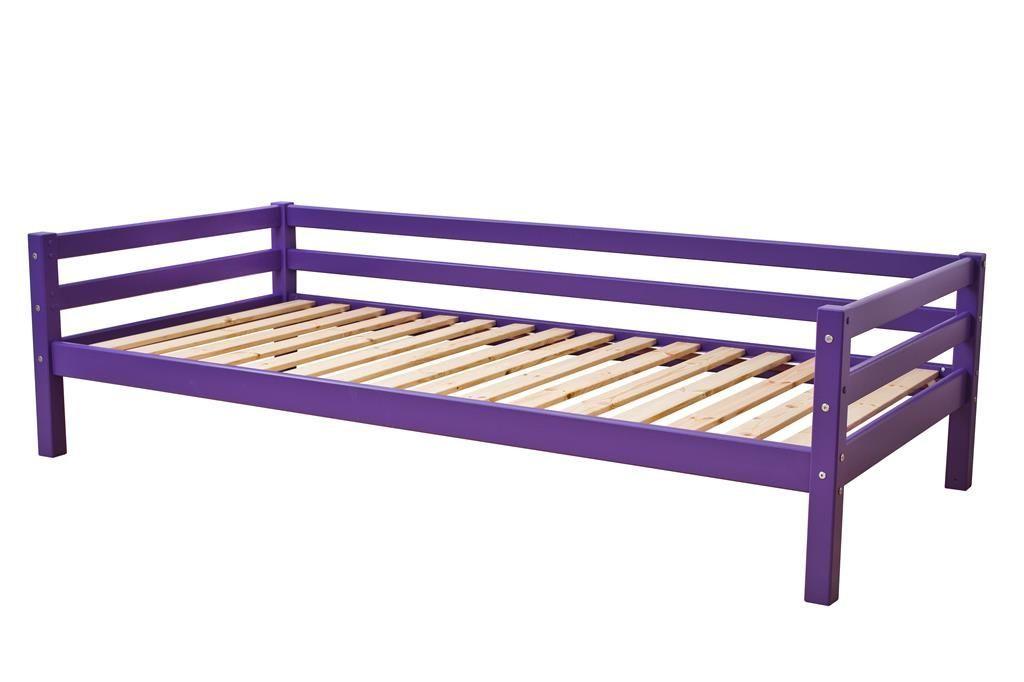 Image of   Juniorseng fra Hoppekids Basic - Classic Purple (200x90)