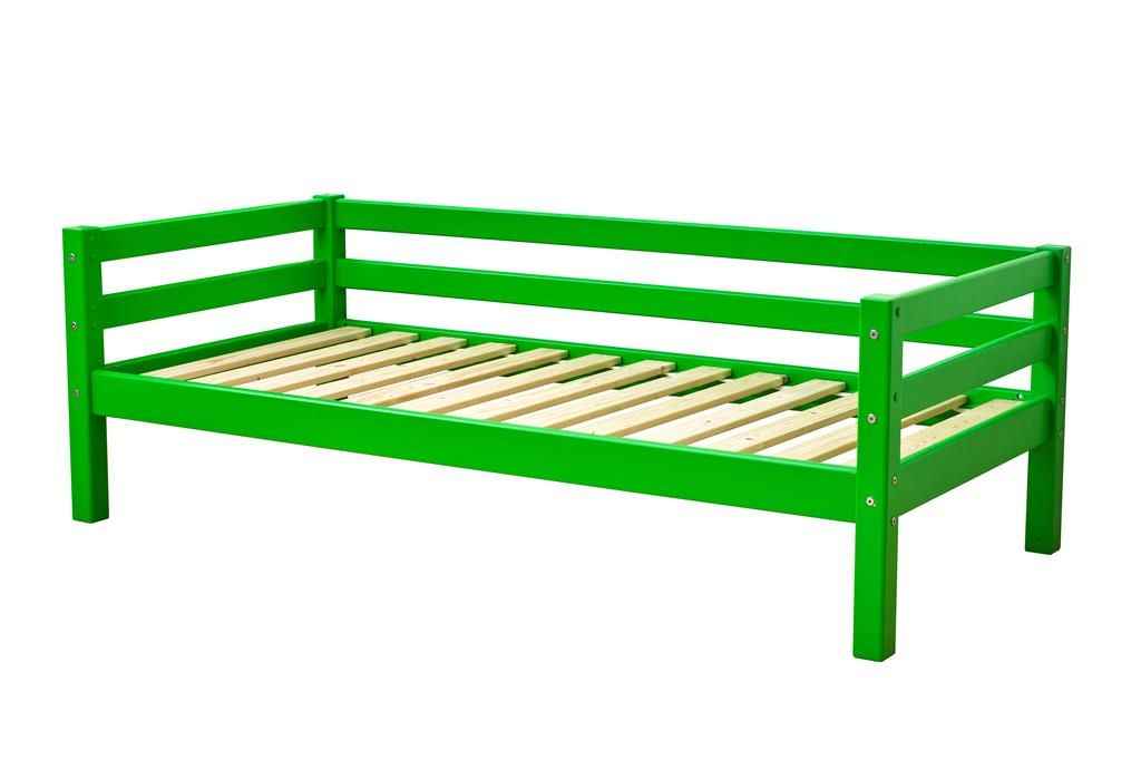 Juniorseng fra Hoppekids Basic - Classic Green (160x70)