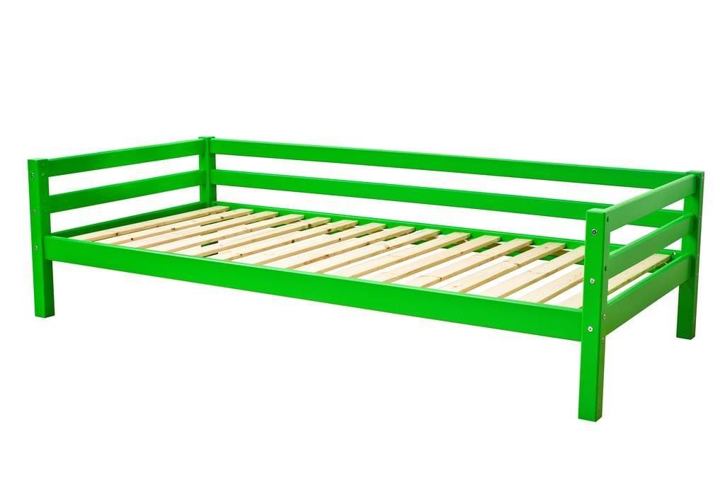 Image of   Juniorseng fra Hoppekids Basic - Classic Green (200x90)
