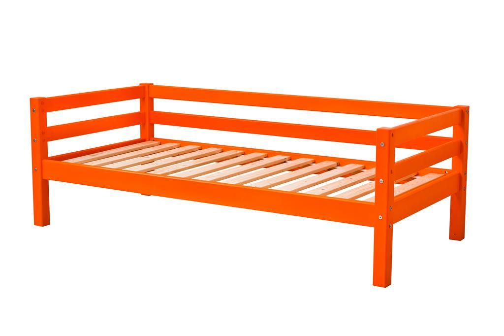 Image of   Juniorseng fra Hoppekids Basic - Orange (200x90)