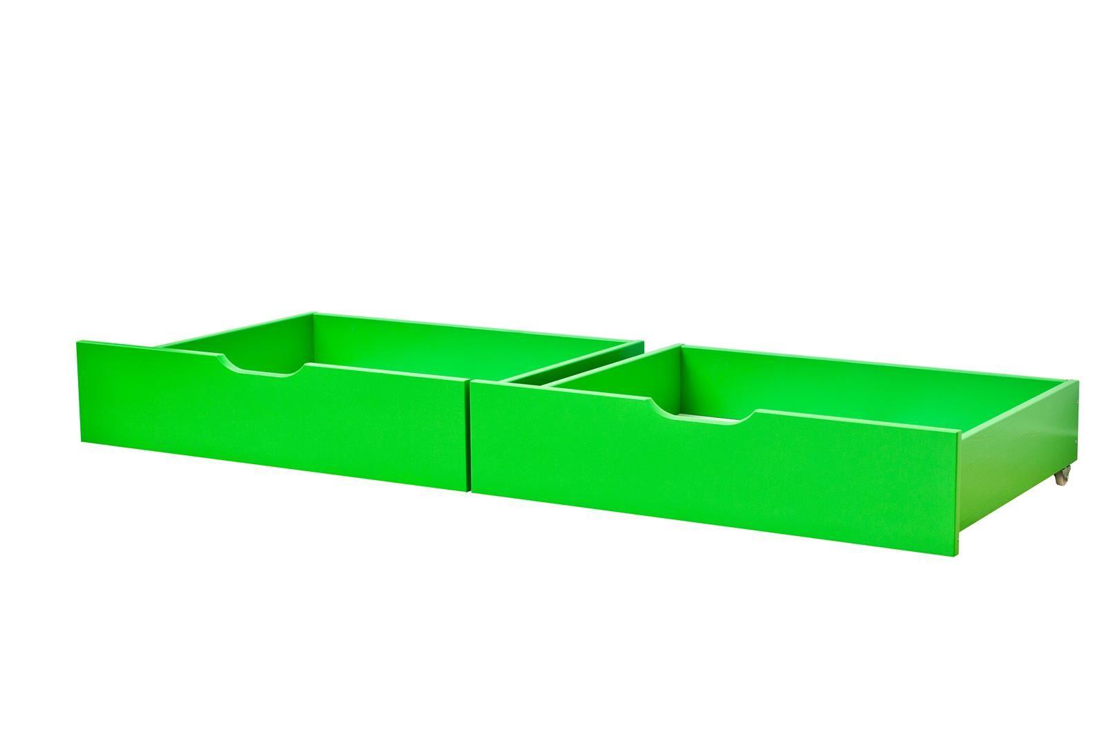 Sengeskuffesæt fra Hoppekids - Classic Green (153x60)