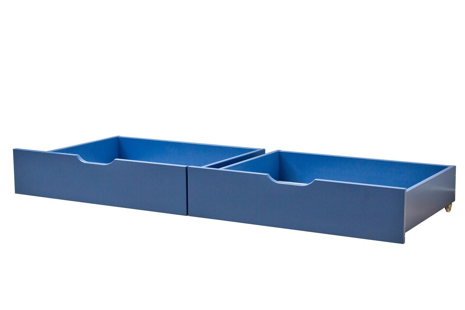 Sengeskuffesæt fra Hoppekids - Classic blue (182x60)