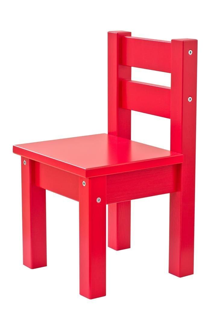 Børnestol fra Hoppekids i Rød