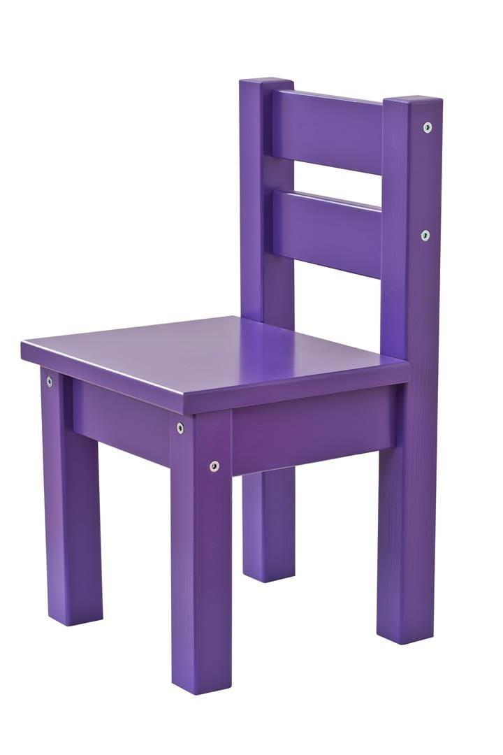 Børnestol fra Hoppekids i Lilla
