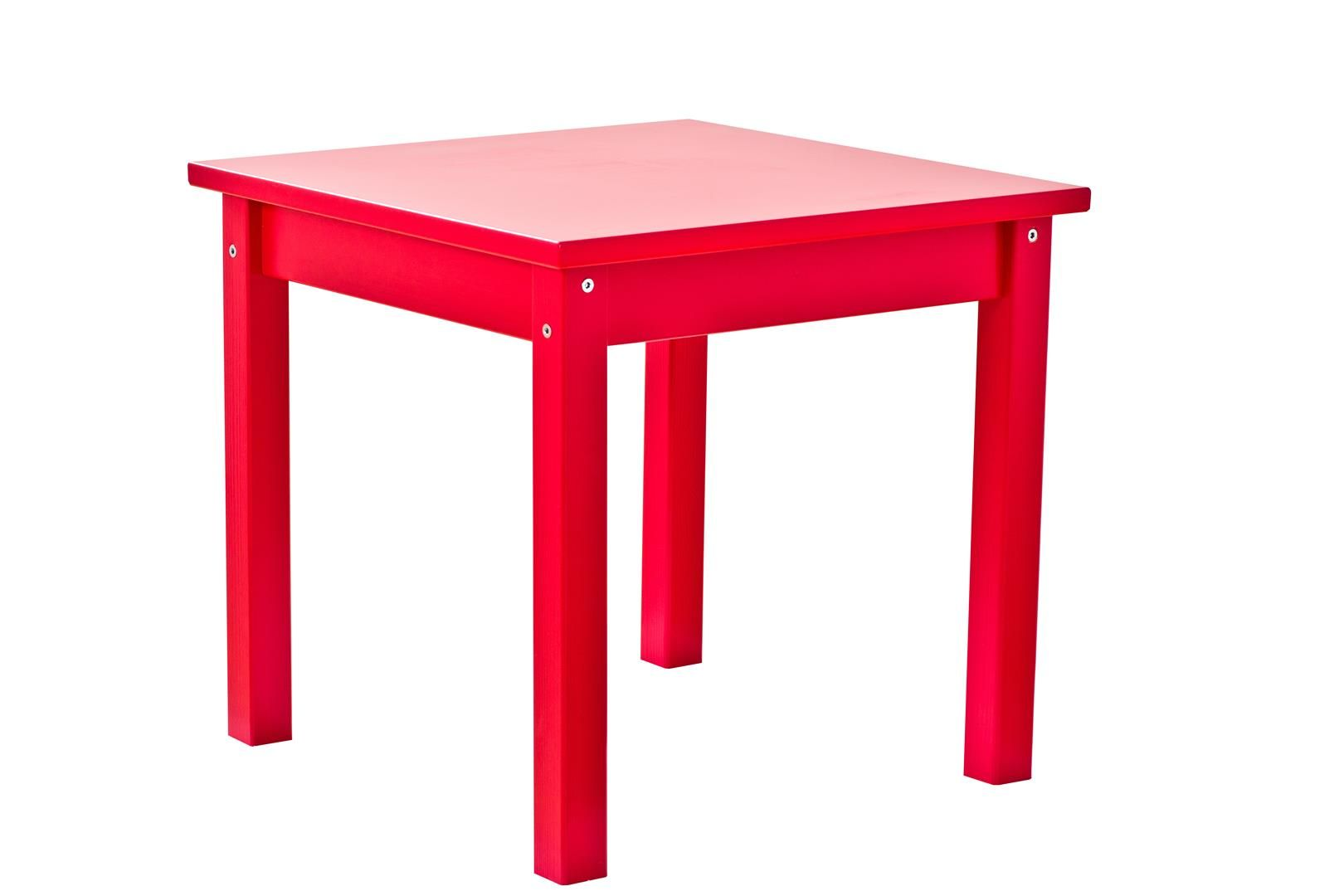 Bord til børneværelset fra Hoppekids - Rødt