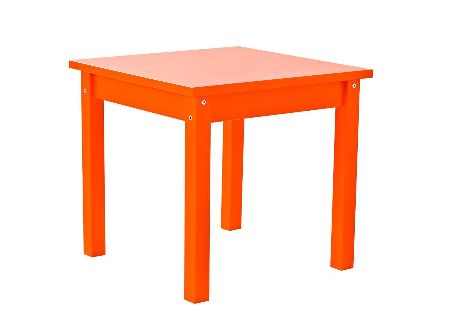 Bord til børneværelset fra Hoppekids - Orange