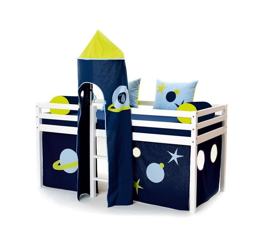 Billede af Tårn fra Hoppekids til halvhøj seng eller Køjeseng - Space