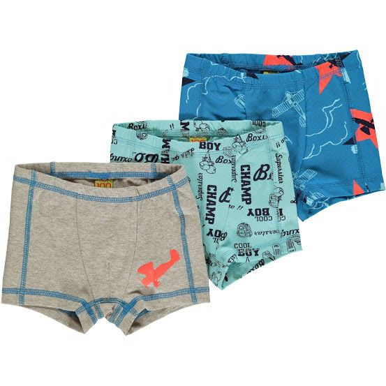 Image of   Boxershorts fra CeLaVi - Airplane mix (3 par)