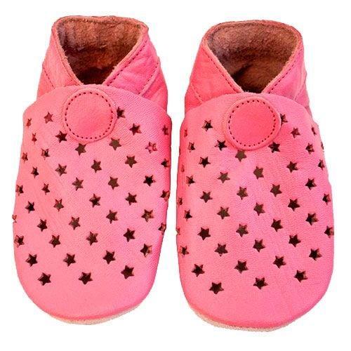 Image of   Hjemmesko fra CeLaVi - Stars - Baby pink