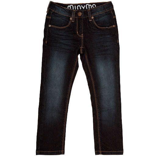 Image of   Jeans fra Minymo - Molly Dark Blue denim