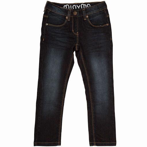 Image of   Jeans fra Minymo - Marie dark blue denim
