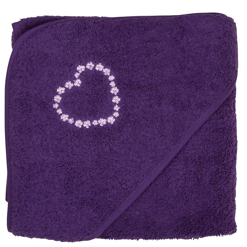 Image of   XL badeslag fra Pippi - Purple Heart