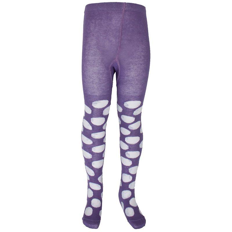 Billede af Strømpebukser fra Mala - Polka Dots - Lavendel