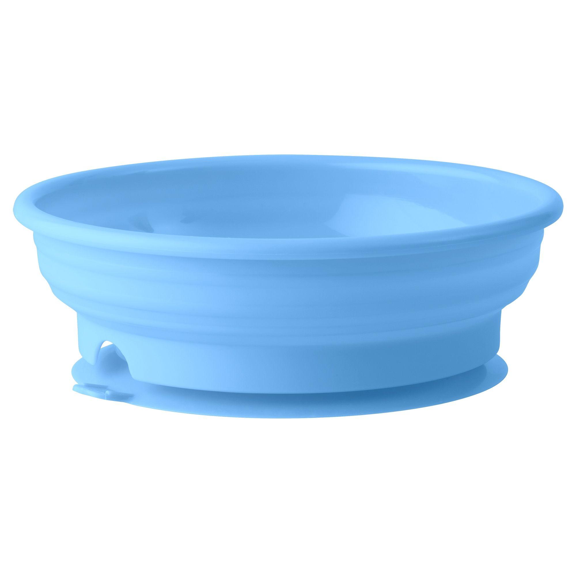 Billede af Begynder tallerken m. sugekop fra Bambino - Blå