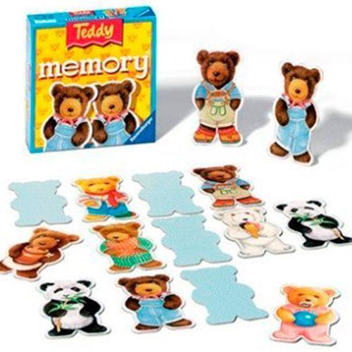 N/A Teddy memory med store bamser fra ravensburger fra babygear.dk