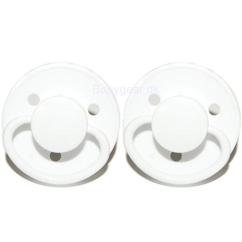 Sut i latex fra Mininor - Hvid (2-pak)