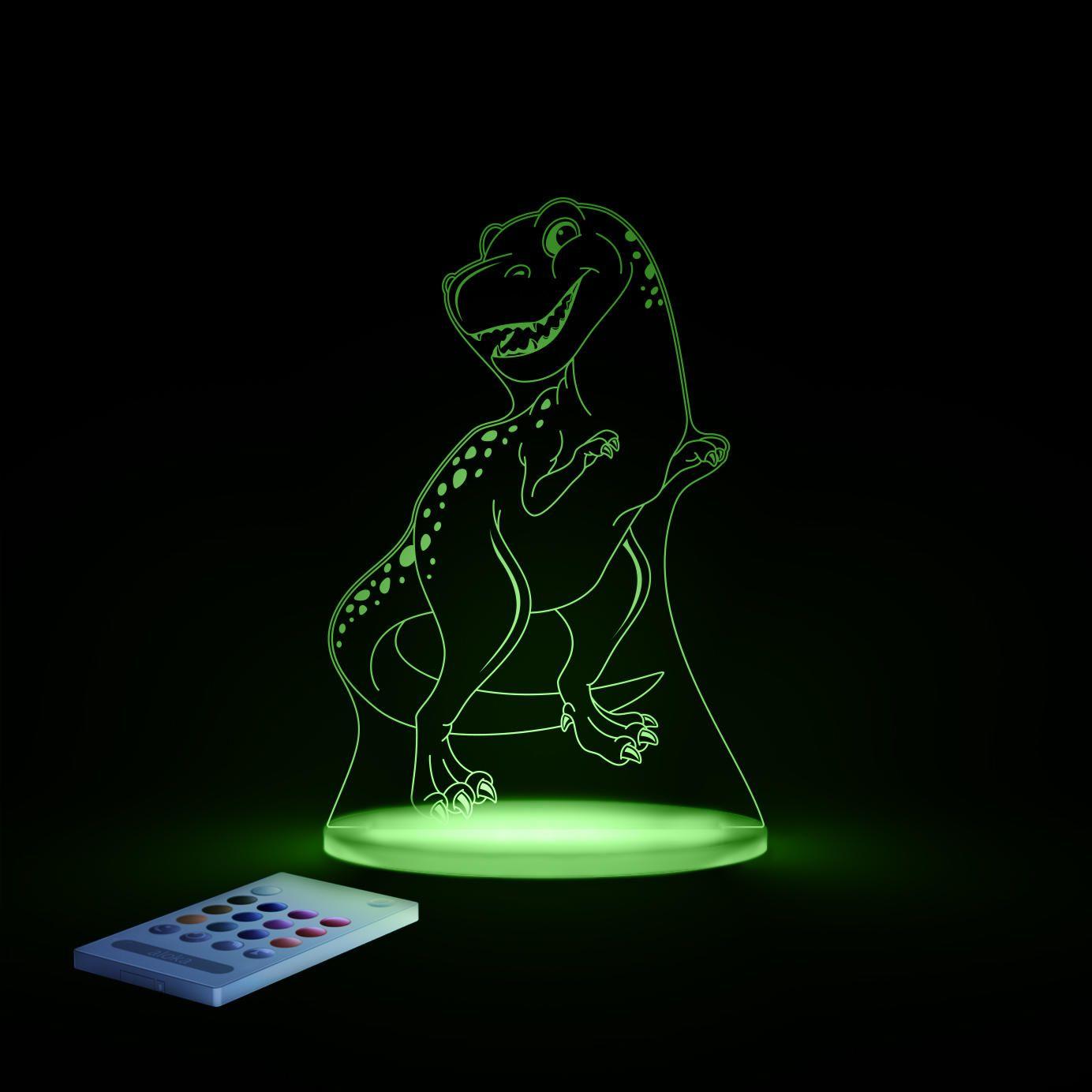 Aloka sleepy lights – Aloka natlampe m. fjernbetjent regnbue lys - r rex på babygear.dk