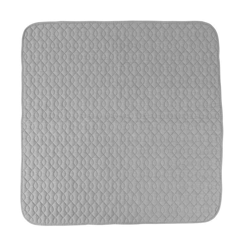 Tæppe fra Sebra - Quiltet grå