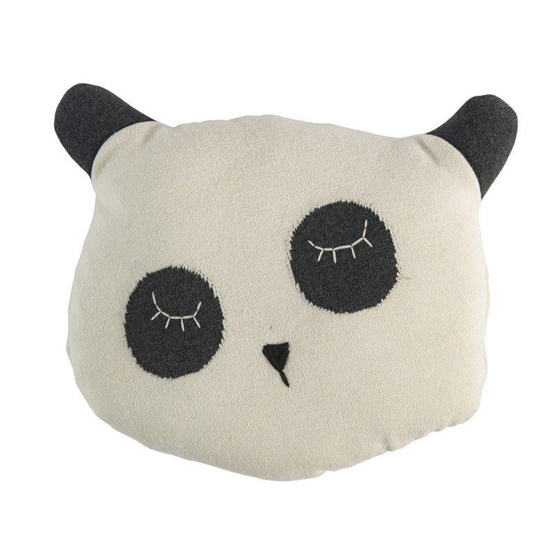 Pude fra Sebra - Strikket Panda