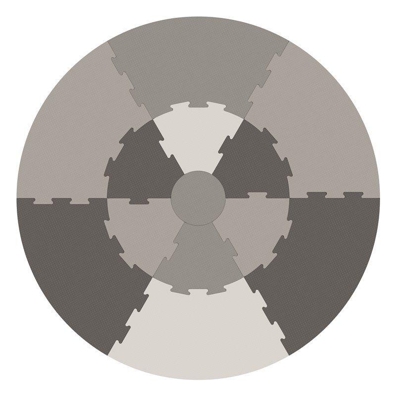 Legegulv Fra Sebra -  warm grey