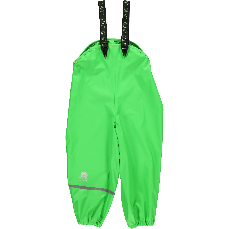 Regnbukser fra CeLaVi - m. seler - Grøn