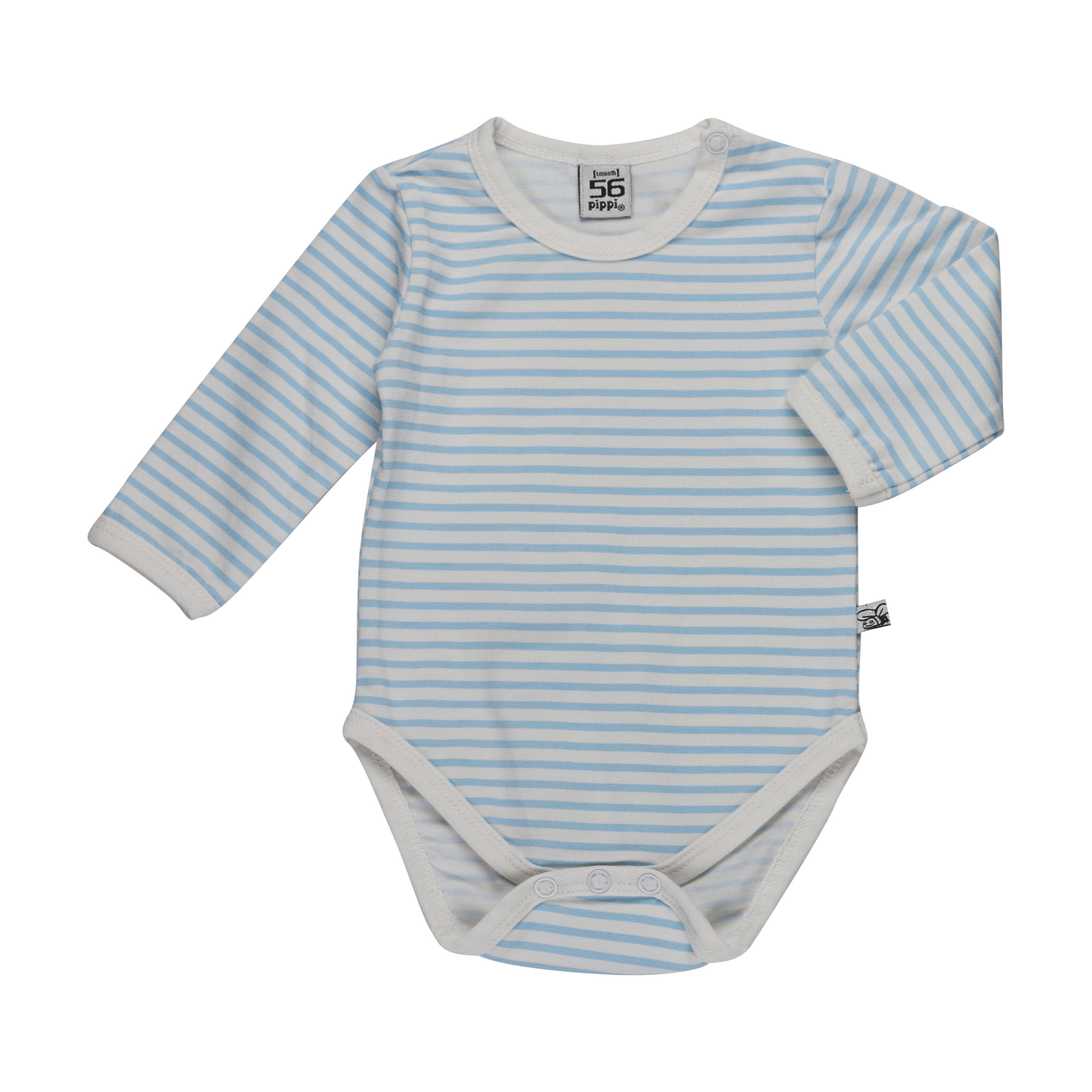 Image of   Body fra Pippi i økologisk bomuld - Blue Stripes