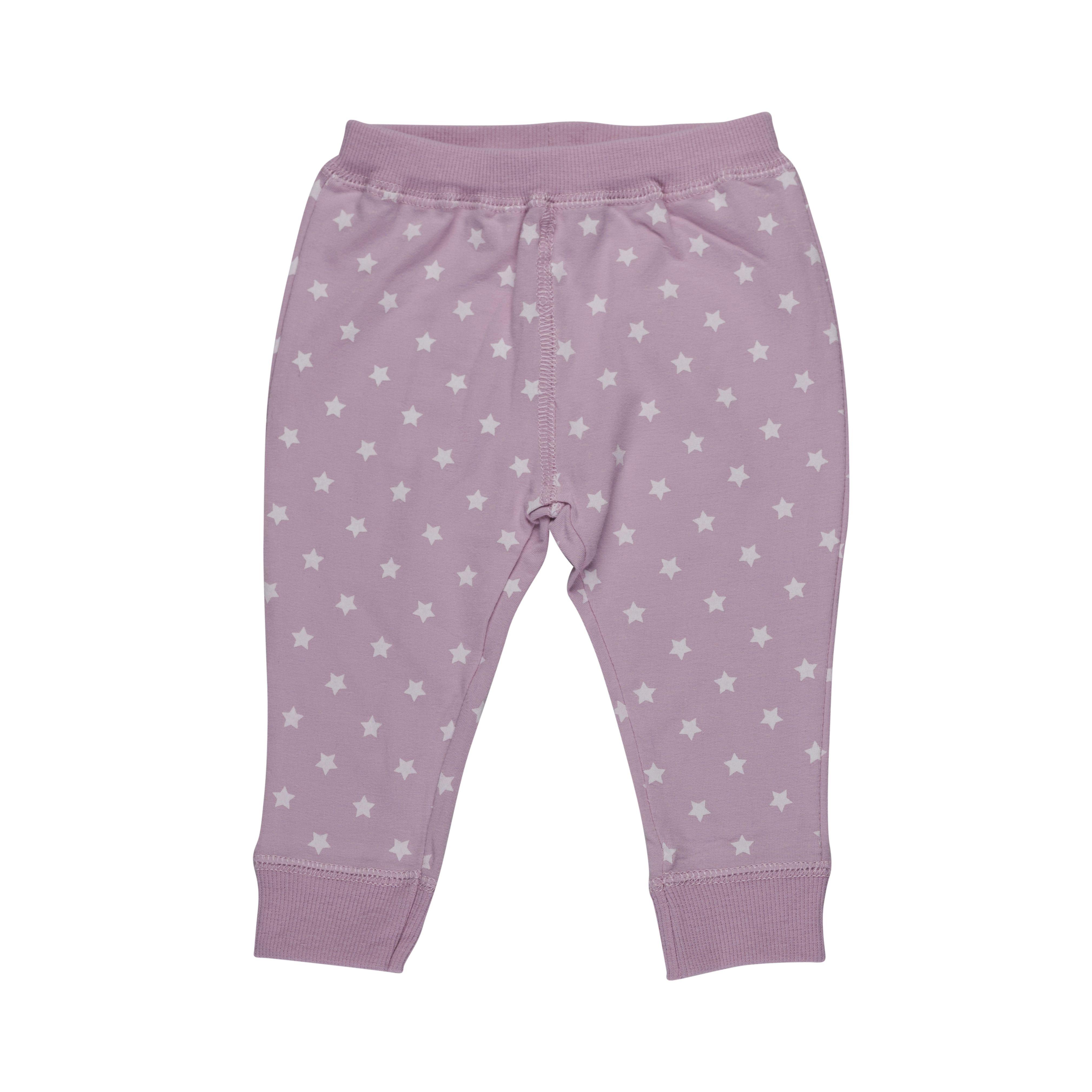 Image of   Baby bukser fra Pippi - Økologisk Bomuld - Rose & Stars