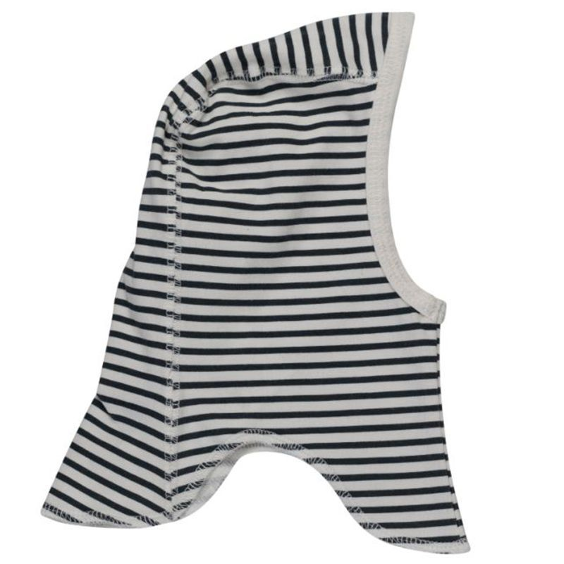 Image of   Elefanthue fra Pippi - Organic - Black Stripes