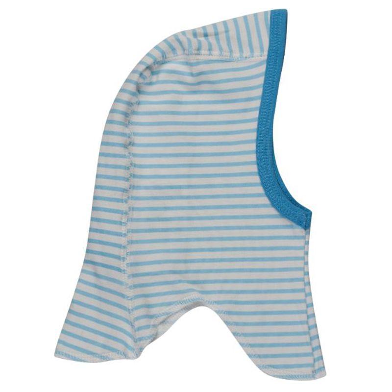 Image of   Elefanthue fra Pippi - Organic - Sky Blue Stripes