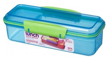 Snakboks - Sistema Snack Attack Lunch - Aqua
