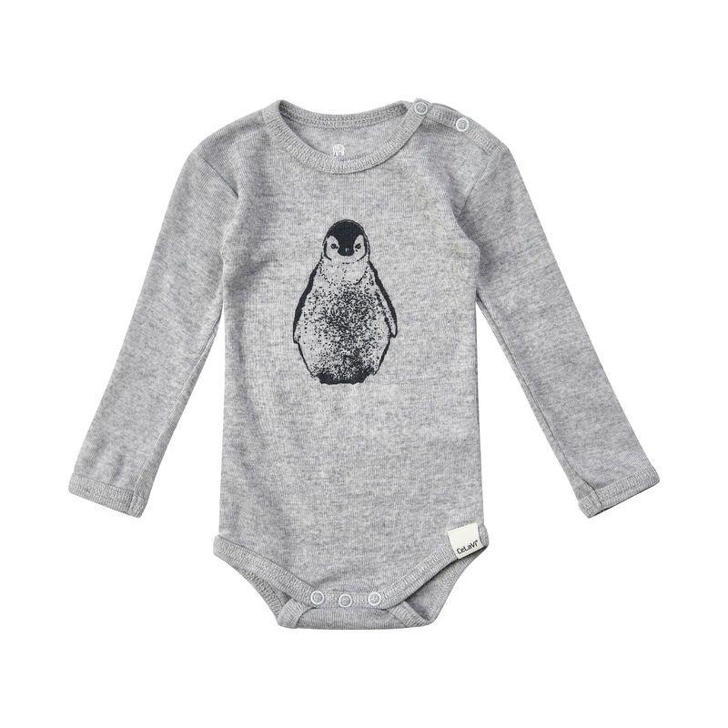 Image of   Body fra CeLaVi - Uld - L/Æ - Penguin