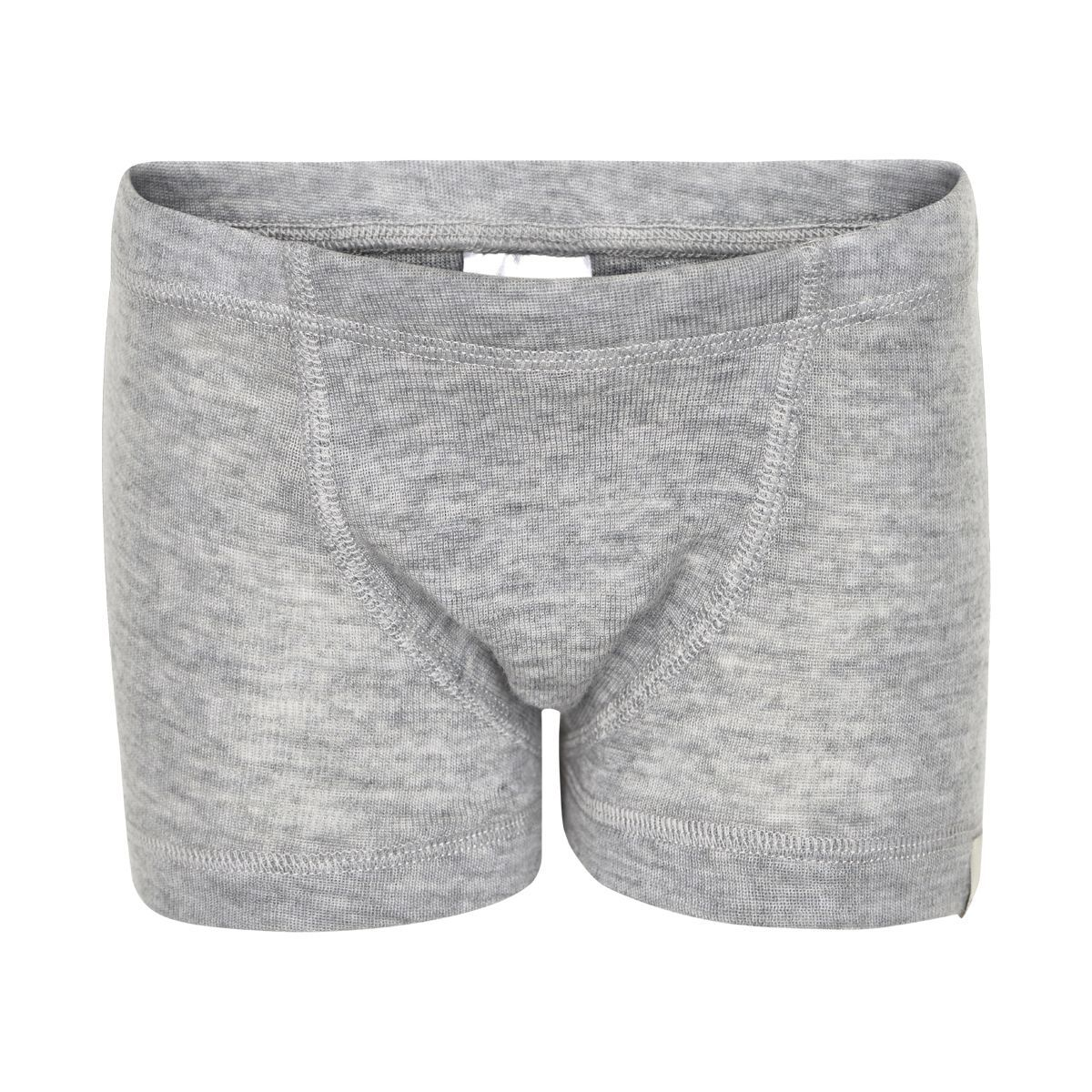 Boxershorts i uld fra CeLaVi - Grey melange thumbnail