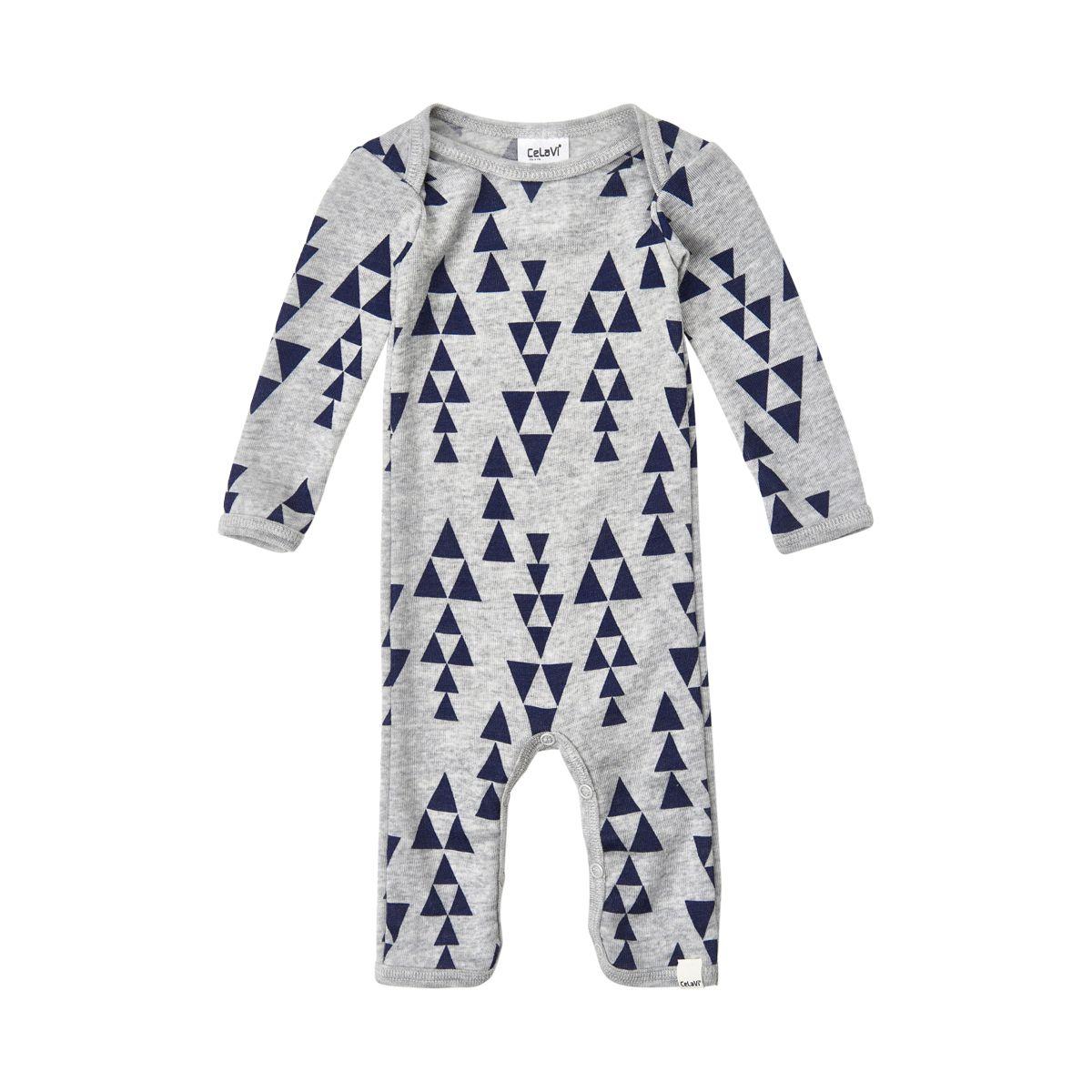 Image of   Jumpsuit i uld fra CeLaVi - Triangles