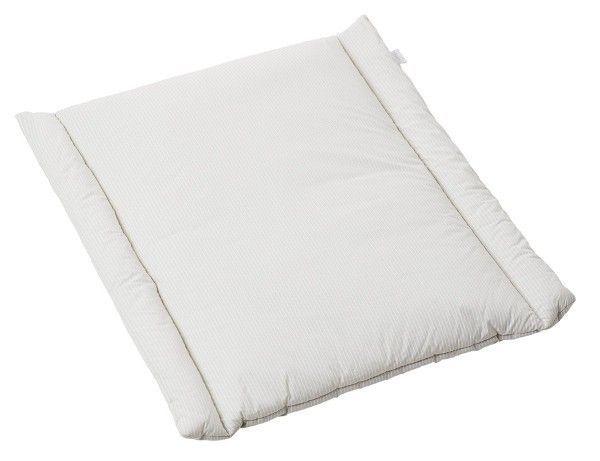 Image of   Puslepude til væghængt puslebord - BabyDan Soft - Grey Stripe