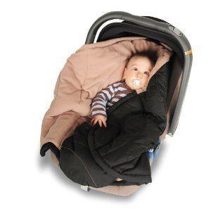 Kaiser Baby fleece wrap fra kaiser - coo coon - sort fra babygear.dk