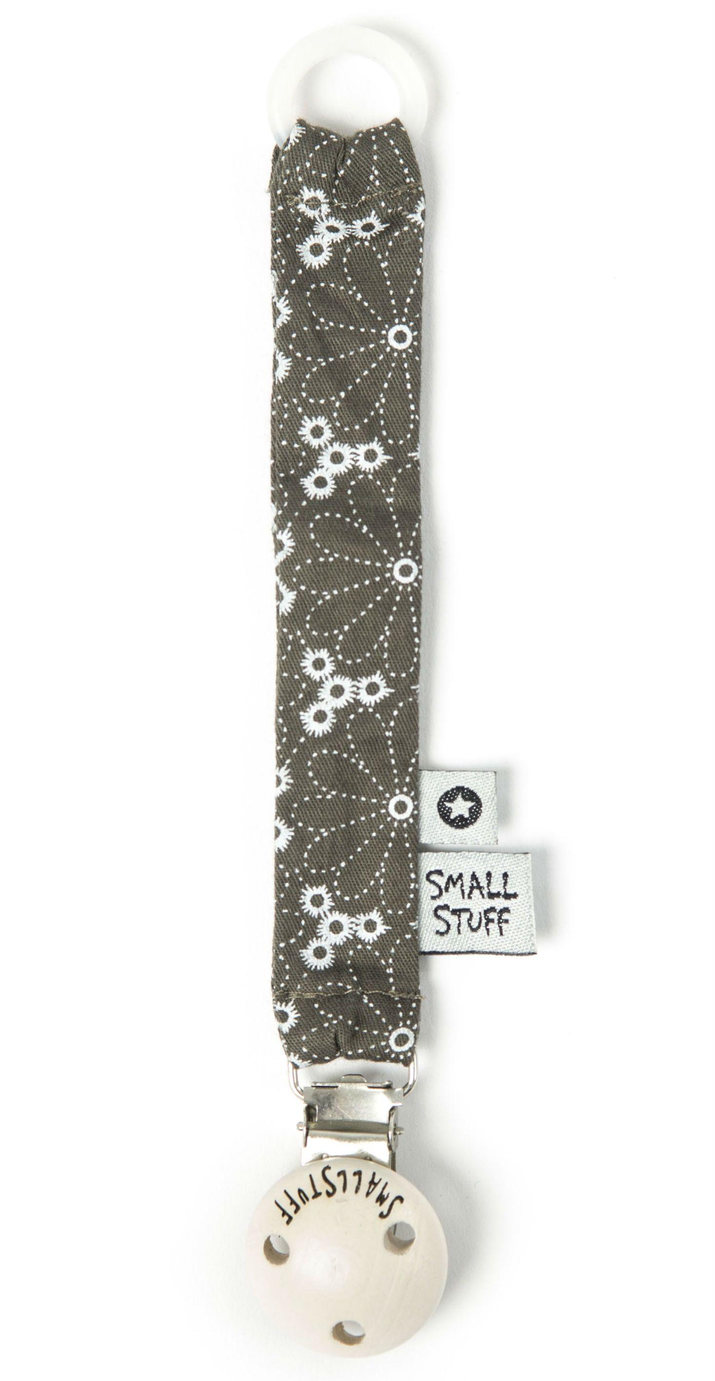 Image of   Suttekæde fra Smallstuff - Antrazit flower