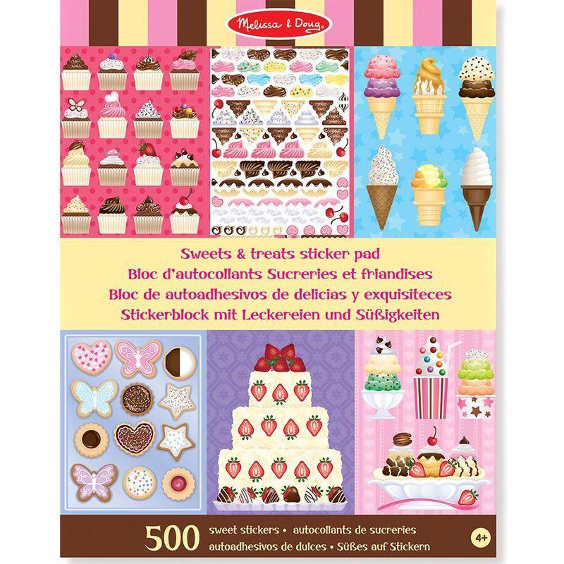 Image of Klistermærkebog fra Melissa & Doug - Kager og desserter (14239_sweets-treats)