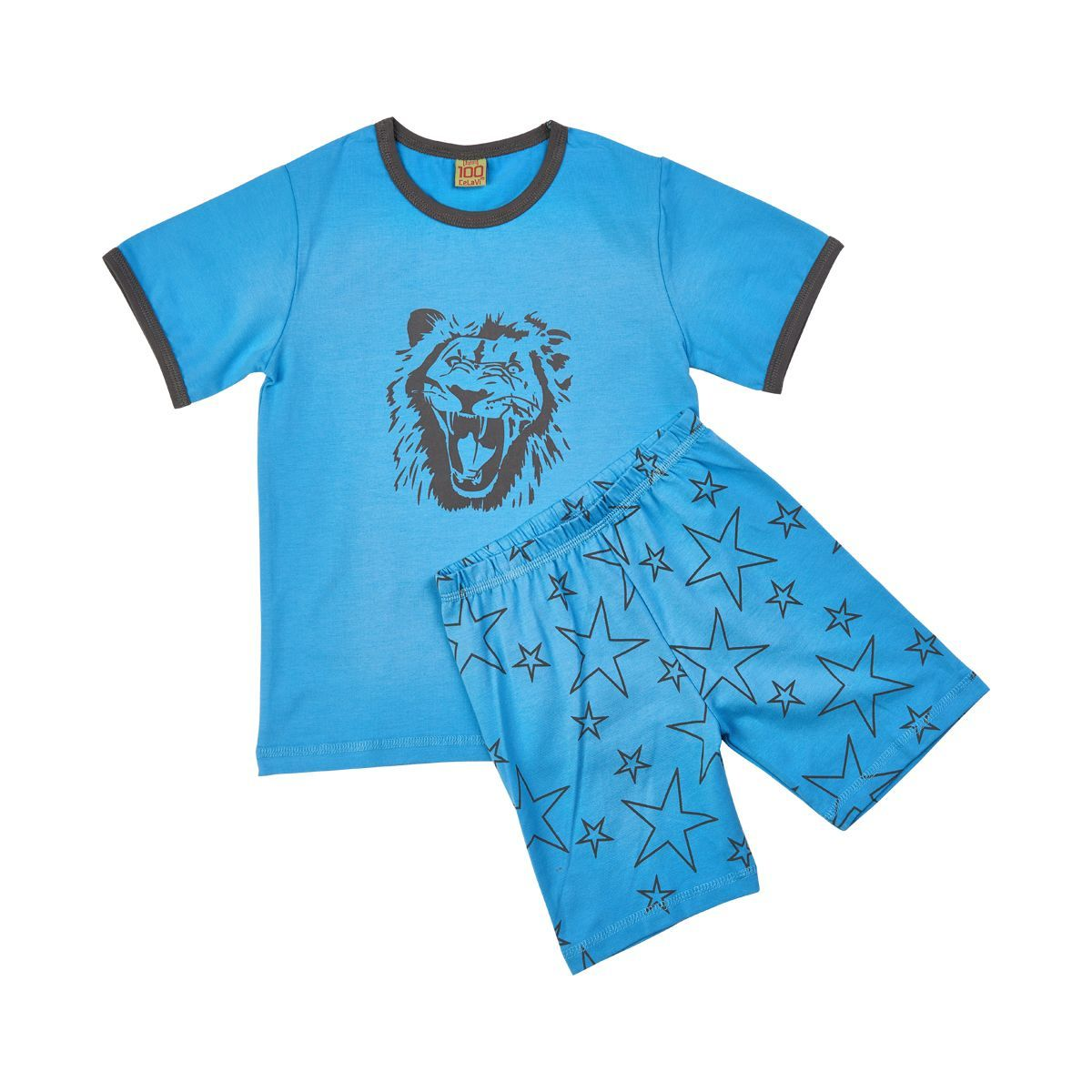 Image of   Sommer pyjamas fra CelaVi - Roar