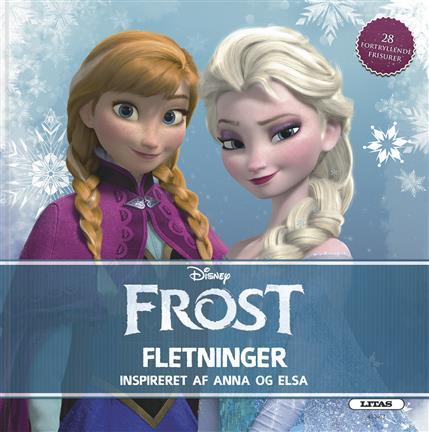 Image of   Frost fletninger - Flettebog m. 28 fortryllende frisurer